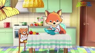 🔺 🐱 Растем с Малюткой  Песенка про  ягоды и фрукты