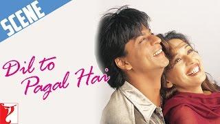 Scene: Dil To Pagal Hai | Mohabbat Kya Hai | Shah Rukh Khan | Madhuri Dixit