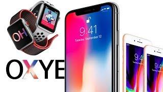 Презентация Apple: Новые Apple iPhone X, iPhone 8, 8 Plus, Apple Watch 3, WatchOS 4, Apple TV 4K