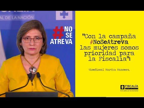 No más violencia contra la mujer: #NoSeAtreva, la campaña de prevención de la Fiscalía