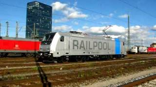 preview picture of video 'RAILPOOL 185 671 in MOR'
