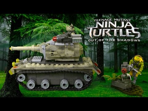 Teenage Mutant Ninja Turtles Out Of The Shadows Jungle Takedown From