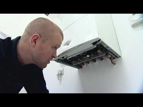 How to repressurise a heating system with an internal fillin