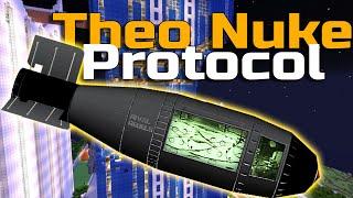 Antimatter Nuke in Minecraft Singularity Explosion - Самые