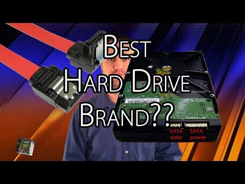 Best Hard Drive Brand, Seagate, Western Digital or HGST?