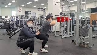 [강남구도시관리공단체육사업부온라인강좌]하체&코어강화운동 썸네일 이미지