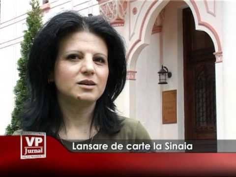 Lansare de carte la Centrul Cultural Carmen Sylva