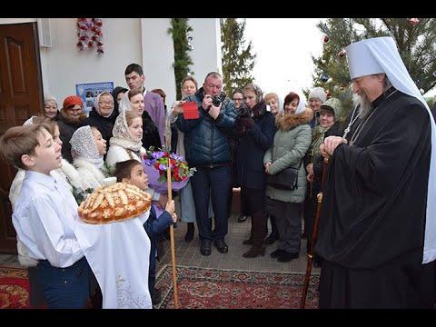 Праздничное богослужение в храме Рождества Христова