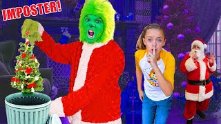We Caught an Imposter Babysitter (The Grinch)! Fun Squad Secret Mission!