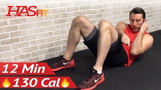 12 Minute Easy Abs and Arms Workout - Beginner Arm & Easy Ab Workout for Beginners - Arms Exercises by HASfit