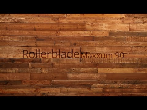 Video: 2018 Rollerblade Maxxum 90 Inline Skate Overview by InlineSkatesDotCom