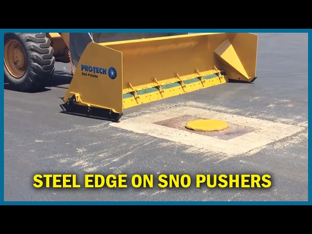 Cutting Edge and Trip Overview - Pro-Tech Steel Edge Sno Pusher