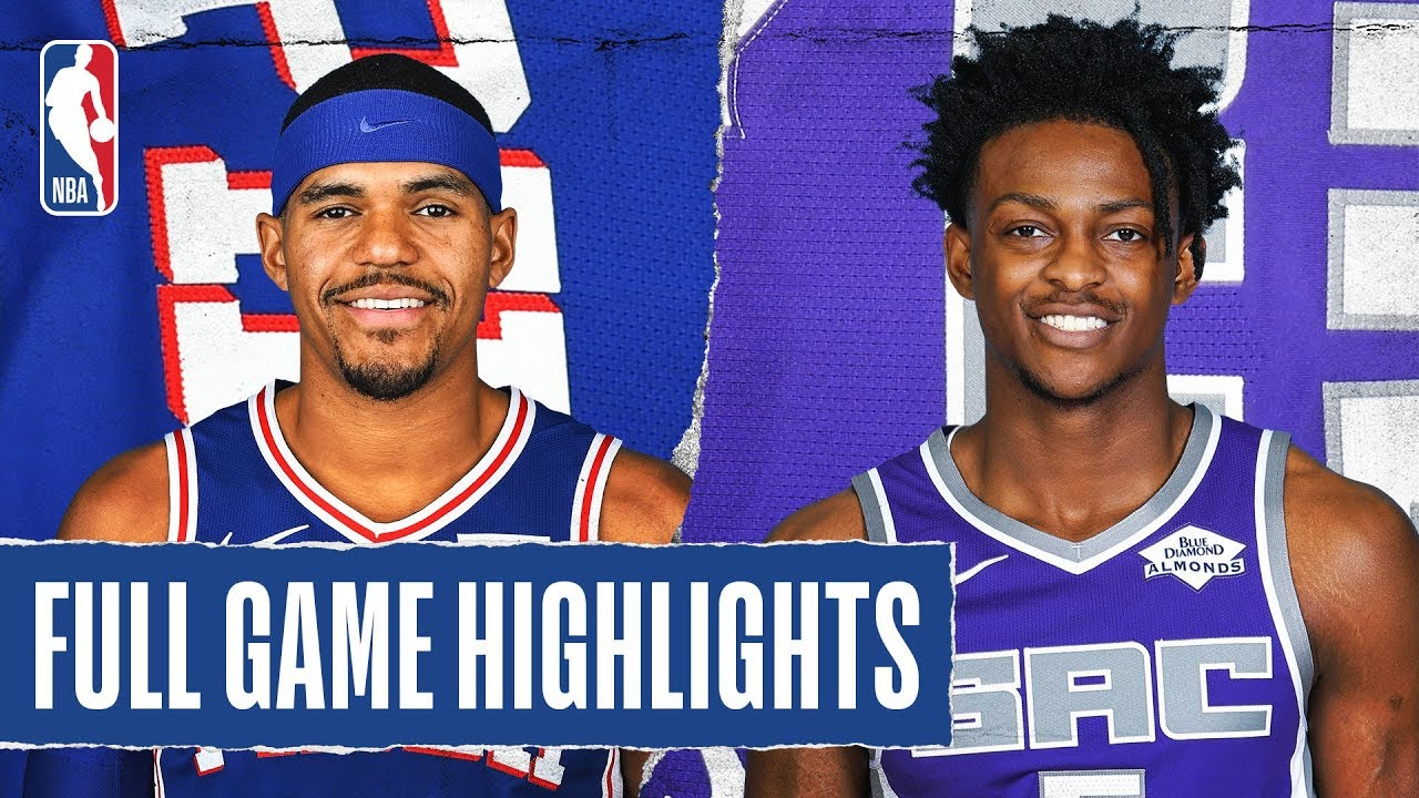 Philadelphia 76ers vs Sacramento Kings [Thu, Mar 05, 2020]