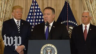 Watch Mike Pompeo's first speech as Secretary of State