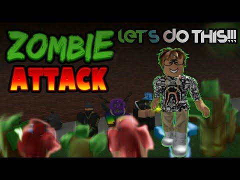 DESTROY THE ZOMBIES!!! | Roblox Zombie Attack