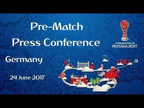 GER vs. CMR - Germany Pre-Match Press Conference