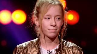 Siska - 'Hé Pa'   Blind Auditions   The Voice Kids   VTM
