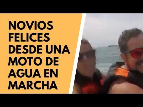 Recomendación desde moto de agua. Mayte y Marcos
