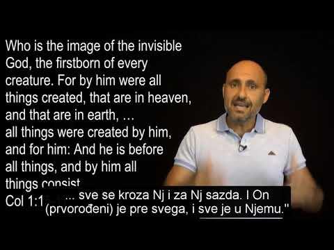 Imad Avde: Da li je Isus rođen u danima večnosti?