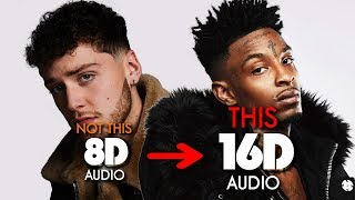 Bazzi   Focus (feat. 21 Savage) [16D AUDIO | NOT 8D  9D] 🎧 [ASMR]