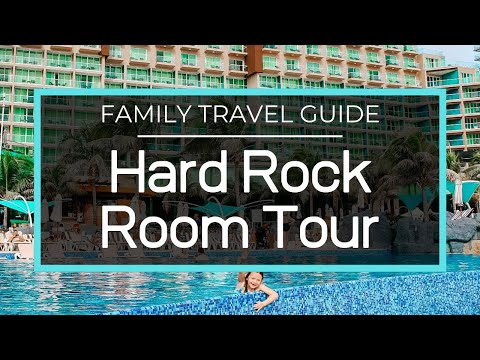 Hard Rock Hotel Cancun Room Tour – Deluxe Family 2 Bedroom