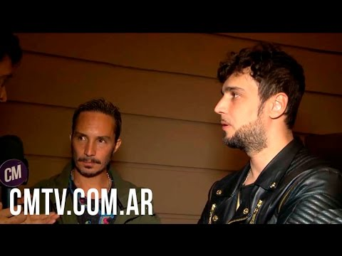 Illya Kuryaki and The Valderramas video Entrevista  - Fashion Meets Rock 2016
