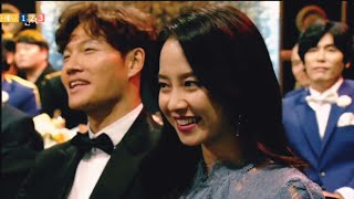 Spartace moments : Kim Jong Kook reaction when people ask about Him and Song Ji Hyo?
