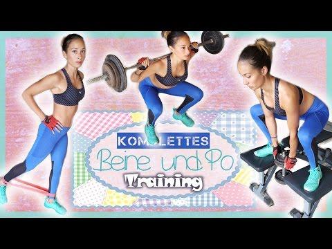 Beine & Po Training - Neue Übungen für schöne Oberschenkel & knackiger Hintern - ohne Geräte