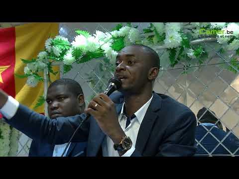Une question de Jean-Jacques Missé-Missé au candidat Cabral Libii à Bruxelles