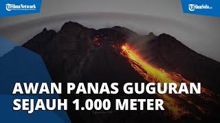 Update! Muncul Awan Panas Guguran di Gunung Merapi, Jarak Luncur 1.000 Meter