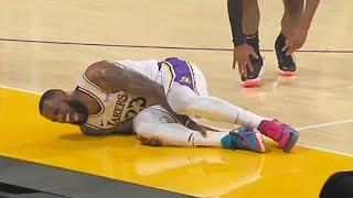 LeBron James Injury - Injures Ankle & Out Indefinitely! Lakers vs Hawks