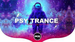 PSY TRANCE ● Villey  Highvoltz - Connected Universe (Original mix)