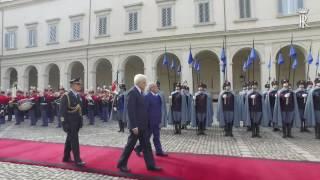 Incontro del Presidente Mattarella con il Presidente della Tunisia in visita di stato