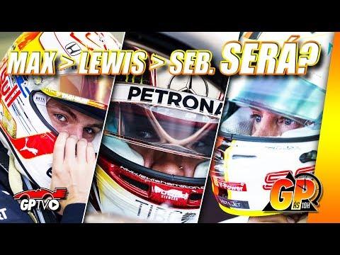 Verstappen impressiona mais do que Hamilton e Vettel | GP às 10