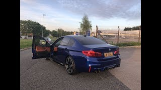 Spending time with the 2018 BMW M5 F90! 592 BHP Machine...