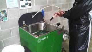 E100M Waterborne Spray gun Cleaner – Features