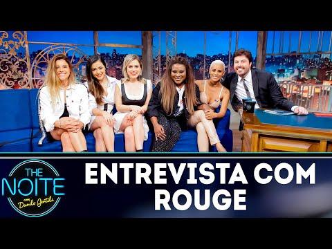 Entrevista com Rouge   The Noite (05/09/18)