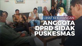 Komisi IV DPRD Padang Sidak ke Sejumlah Pukesmas, Lihat Kekurangan