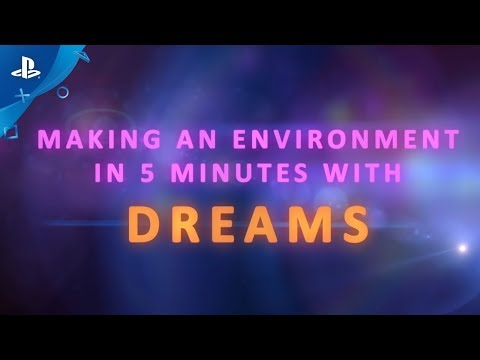 Dreams - Making an Environment in 5 minutes de Dreams