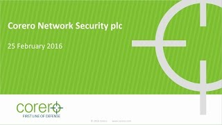 corero-network-security-cns-presentation-25-february-2016-25-02-2016