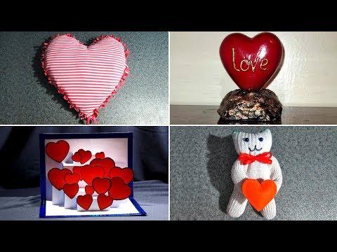10 идей поделок на день Святого Валентина. Поделки на 14 февраля