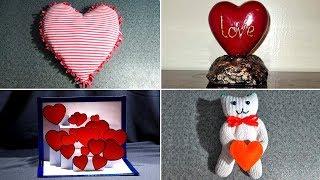 10 идей поделок на день Святого Валентина.