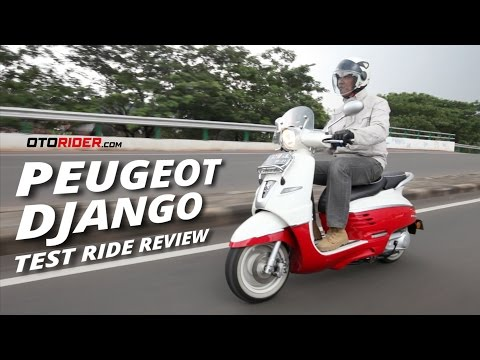 Peugeot Django Evasion Test Ride Review – Indonesia | OtoRider