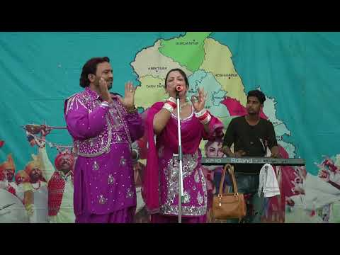 saber khan/lovejot rani live || Rooh Punjab Di