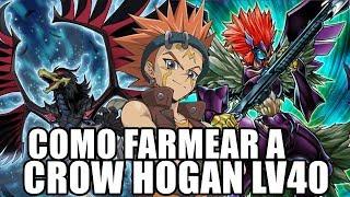 Cómo FARMEAR a Crow Hogan Nivel 40 | 2 DECKS | Yu-Gi-Oh