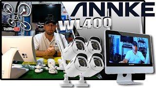ANNKE WL400 Kit complet de surveillance vidéo WIFI - Review Test Démo - Gare aux voleurs !
