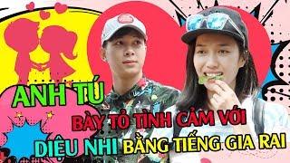 Cô nàng Diệu Nhi HẠNH PHÚC khi bất ngờ được bạn trai Anh Tú TỎ TÌNH bằng tiếng GIA RAI| LK24H
