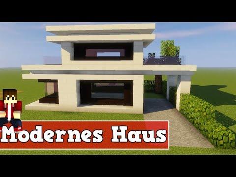 Wie Baut Man Ein Modernes Haus In Minecraft Minecraft Modernes Haus - Minecraft haus unter wasser bauen