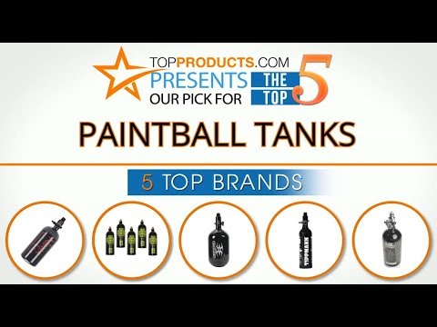Best Paintball Tank Reviews 2017 – How to Choose the Best Paintball Tank