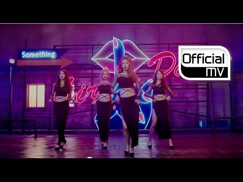 YOUTUBE MV - Girl's Day - Something